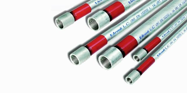 prodotti siderurgici tubo gas